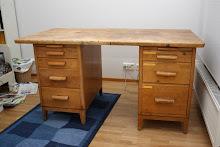Osakunnan vanha kirjoituspöytä