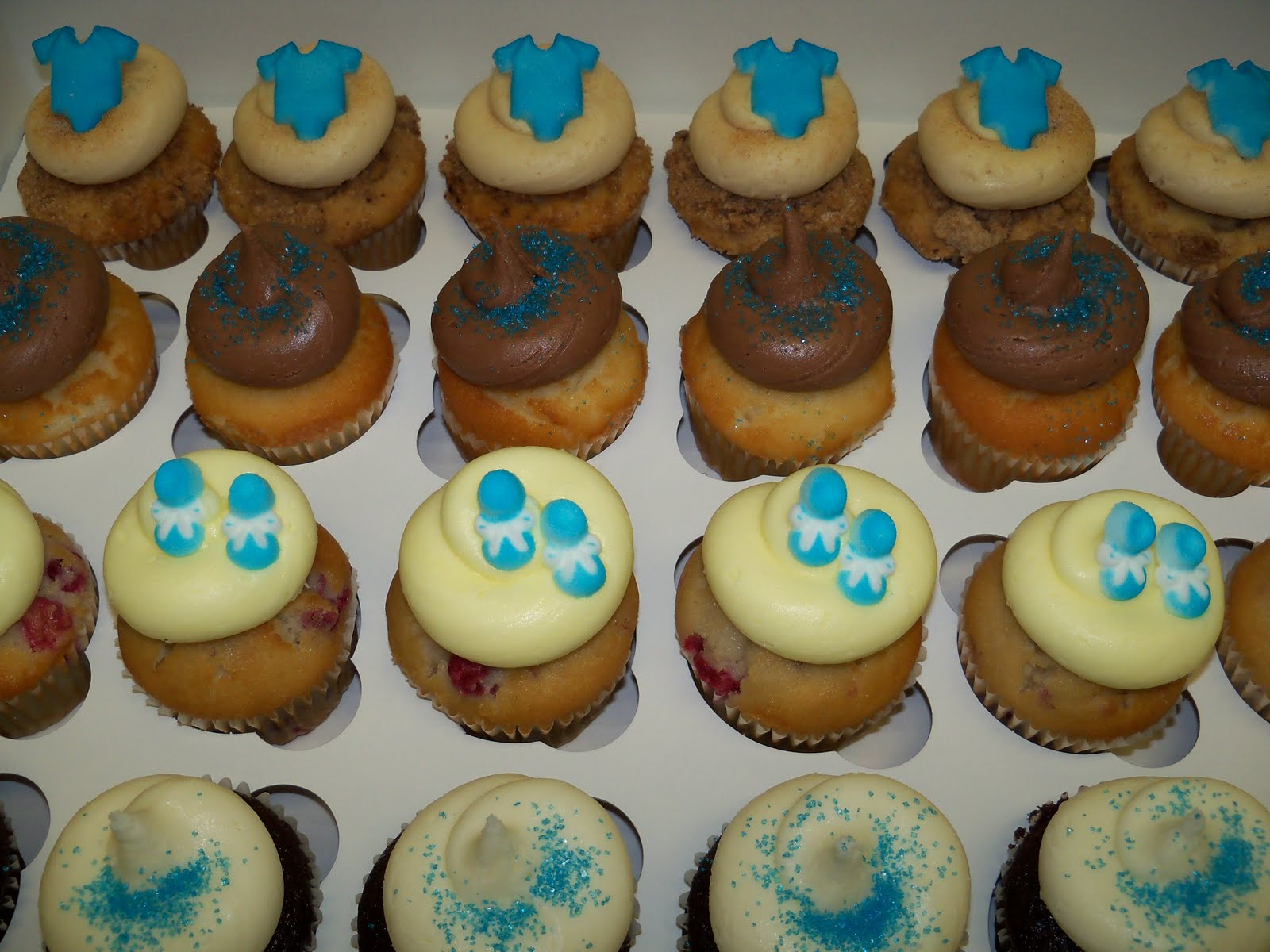 Boy Cupcake Ideas : Baby Boy Shower Cupcakes Ideas