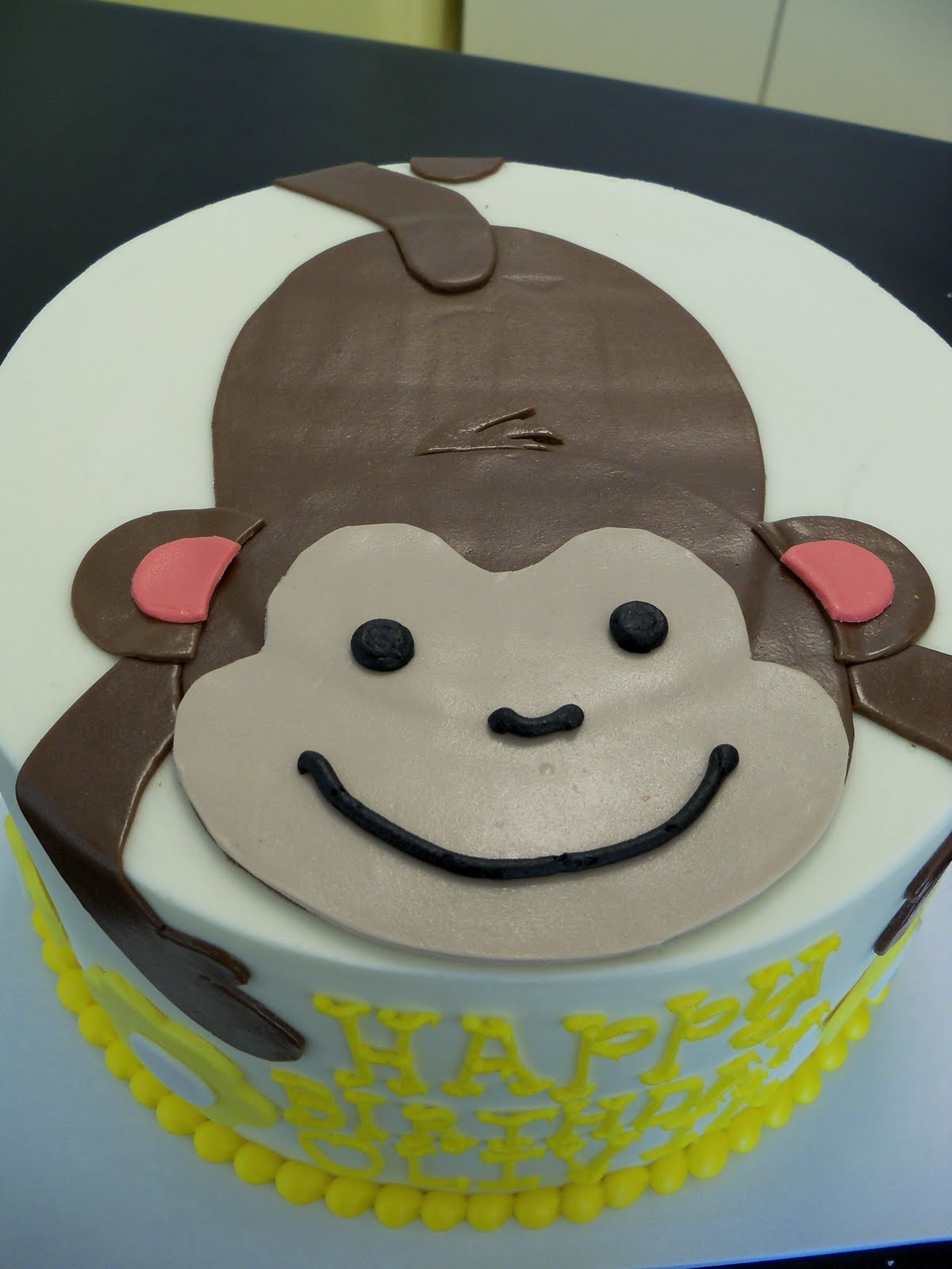 Birthday Cake Ideas Monkey : Monkey Birthday Cakes Cake Ideas and Designs