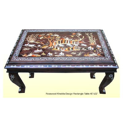 Ethnic Indian Decor Coffee Table From Lepakshmi Hyderabad