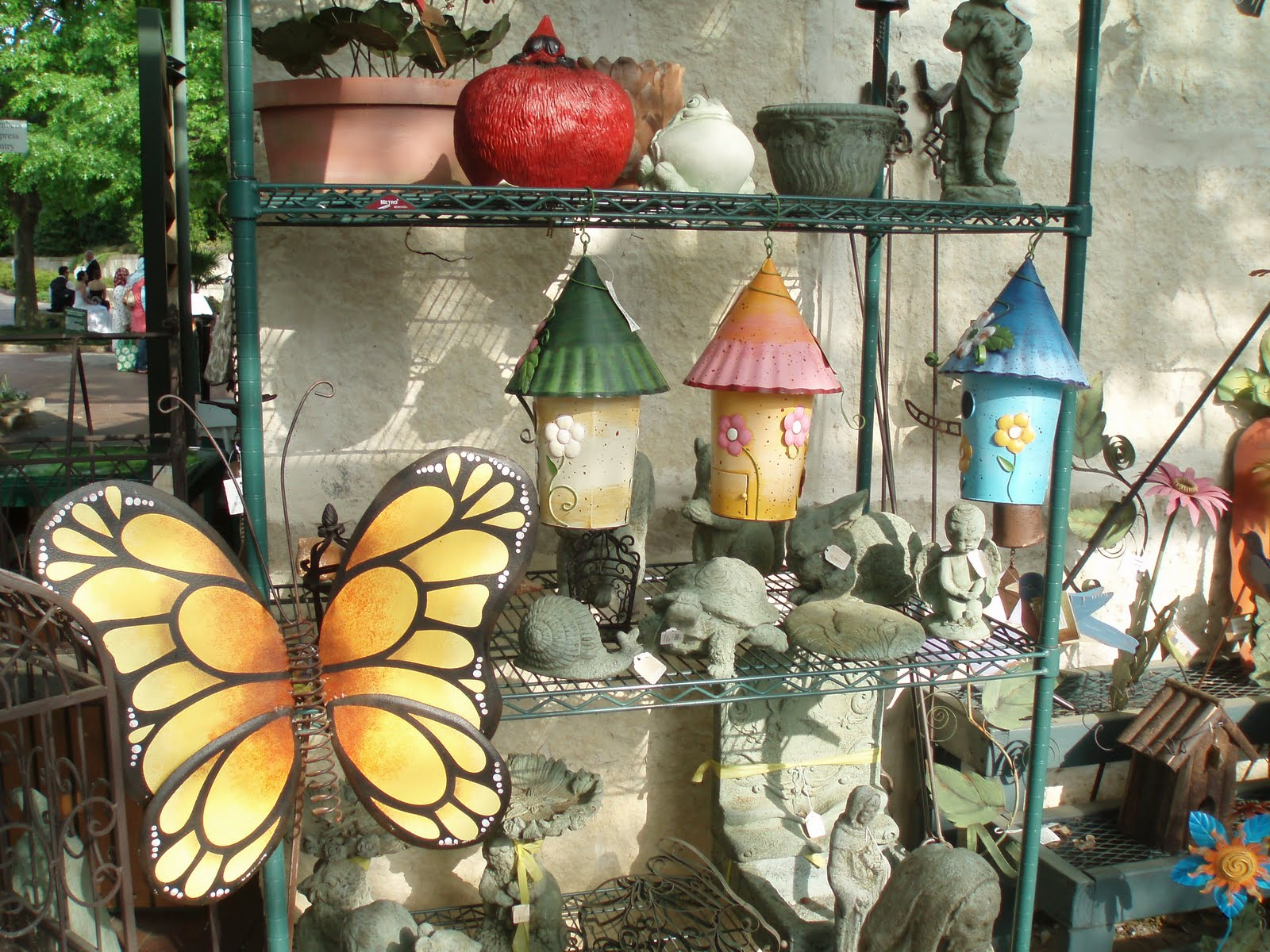 Ethnic indian decor garden decoration accessories and windchimes - Garden decor accessories ...