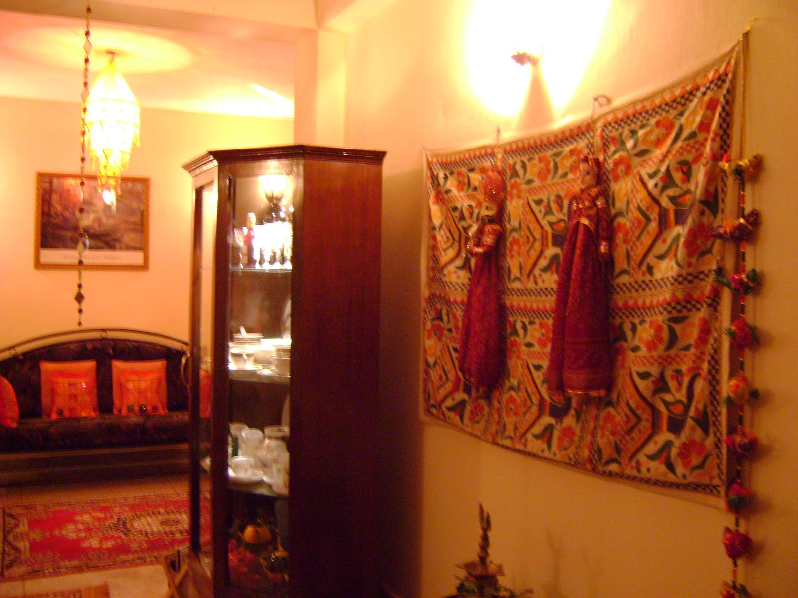 Ethnic indian decor co blogger find of this month for Art decoration for home