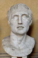 Menander, bust at the Chiaramonti Museum