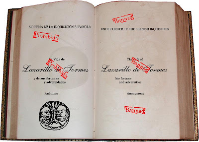 Spain banned Lazarillo's 1st edition as anti-clerical