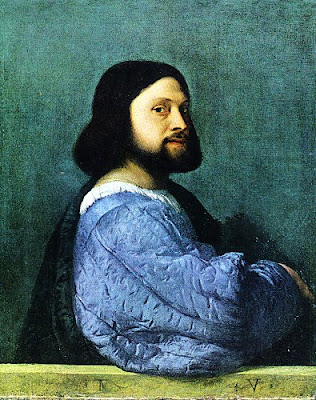 Ariosto painted by Titian, or maybe Titian's self-portrait?