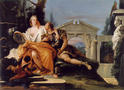 Rinaldo & Armida, by Tiepolo