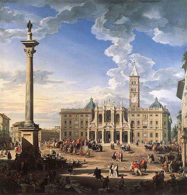 Rome, S. Maria Maggiore, by Pannini