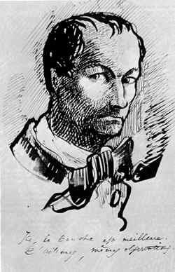 Charles baudelaire - schizzo d'artista