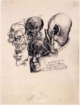 Studi sul cranio di Freud - Salvador Dali