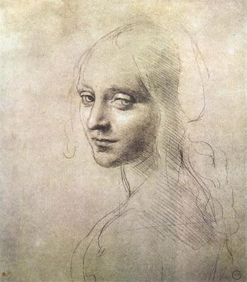 sketch by Leonardo