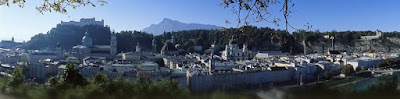 View of Salzburg - click to enlarge