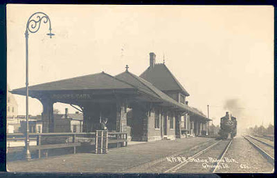 Rogers Park, Chicago, Train Depot