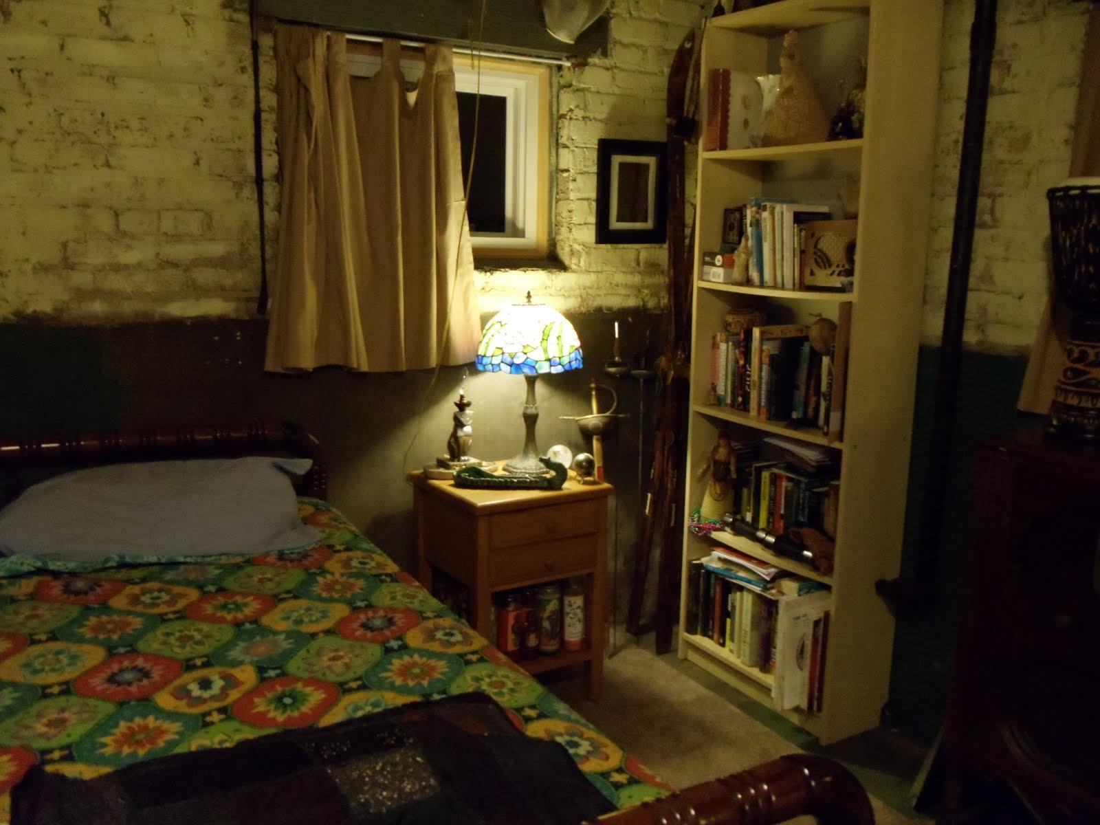 The Box House Basement fice By Night