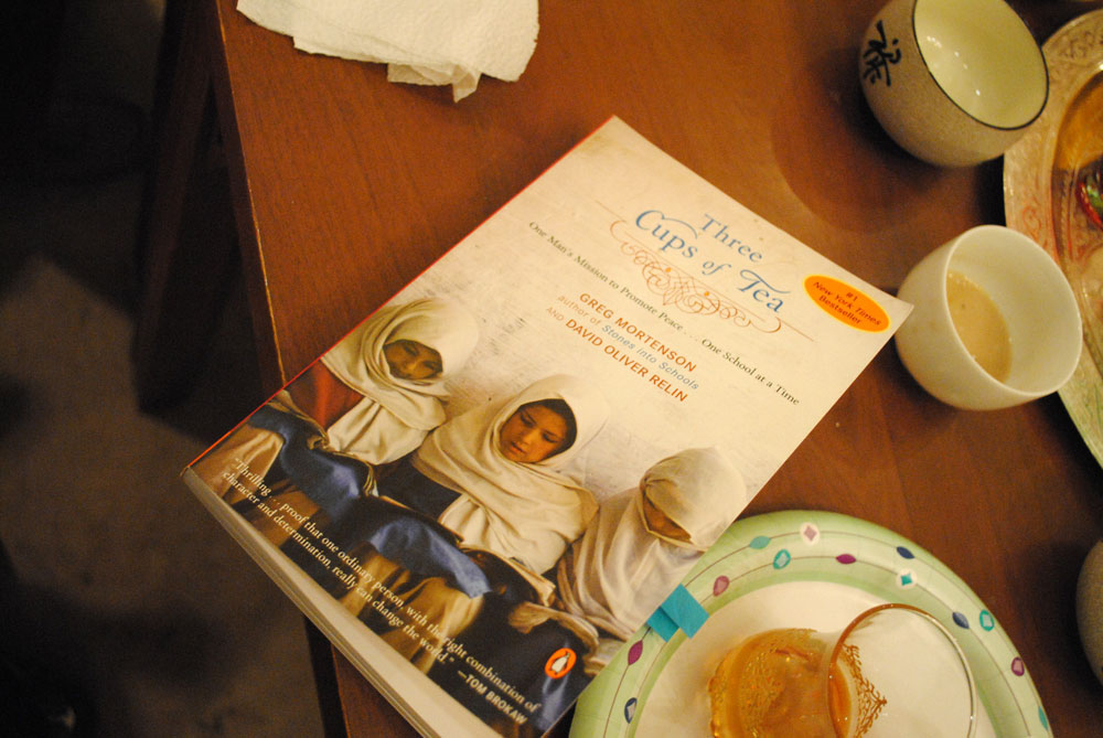 3 cups off tea The paperback of the three cups of tea, young reader's edition: one man's journey to change the worldone child at a time by greg mortenson, david.