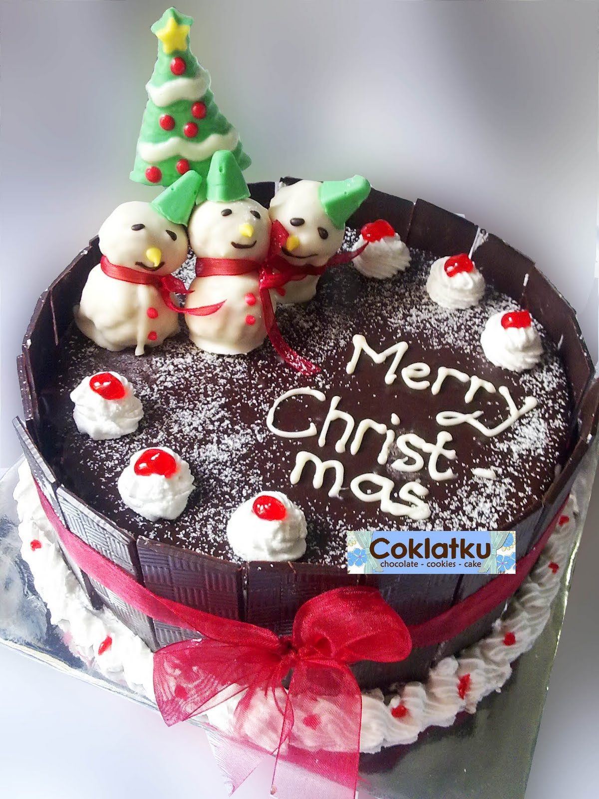 Chocolate Cake Christmas Design : Christmas Cake Ideas Best Christmas Cakes - Best ...