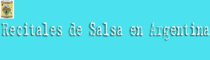 Recitales de Salsa en Argentina