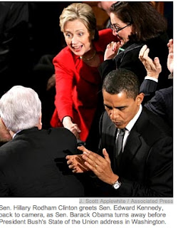 """""""Obama Snub / Clinton Snub"""" - AP Reporter LAURIE KELLMAN's Fixed Story Covers Up Truth"""