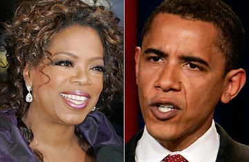 Oprah Winfrey To Hold Big Party For Senator Obama, Sept 8th - LA Times / Other Sources