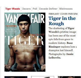 Tiger Woods in Vanity Fair amid rehab reports