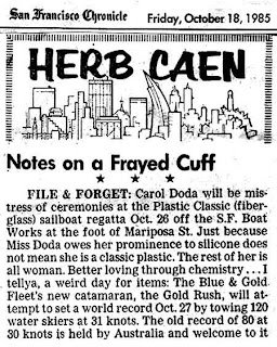 Herb Caen lives through the SF Chronicle and New Media
