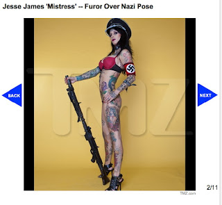 Sandra Bullock update: Jesse James Nazi Salute Photo to TMZ?