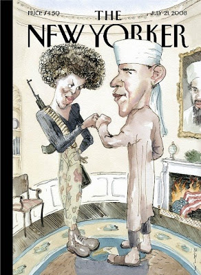 New Yorker's Cartoon Of Barack And Michelle Obama An Outrage