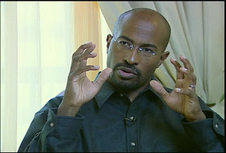 Van Jones: Oaklander and Obama's Green Jobs Czar on CNN's Larry King Tonight