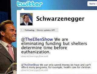 Gov. Arnold Schwarzenegger answers Ellen DeGeneres