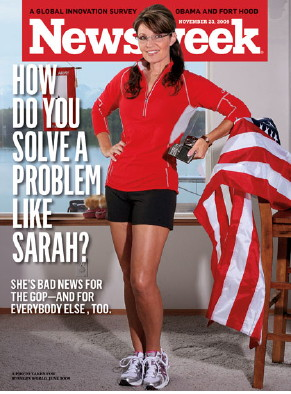 President Sarah Palin Victimized By Sexist Newsweek Cover