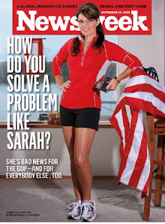 Sarah Palin Newsweek Cover: Palin is not Carrie Prejean