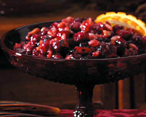 BAKED CRANBERRY RELISH | Croquille Master
