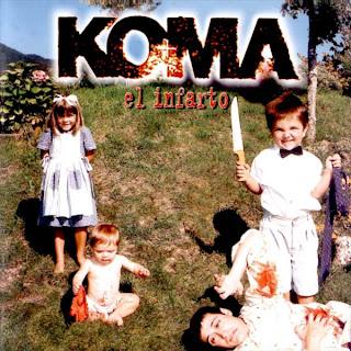 Koma - Discografía Koma+Infarto+front