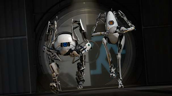 portal 2 atlas robot. portal 2 atlas wallpaper.