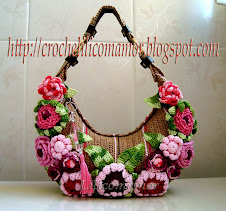 BOLSA LINDA COM FLORES