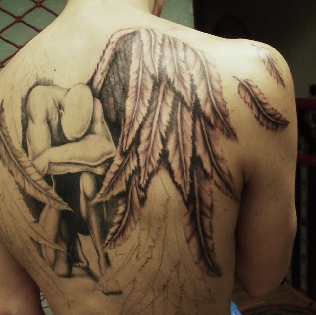 Фото татуировки на спине фото тату на спине Тату  - тату на спине девушек фото