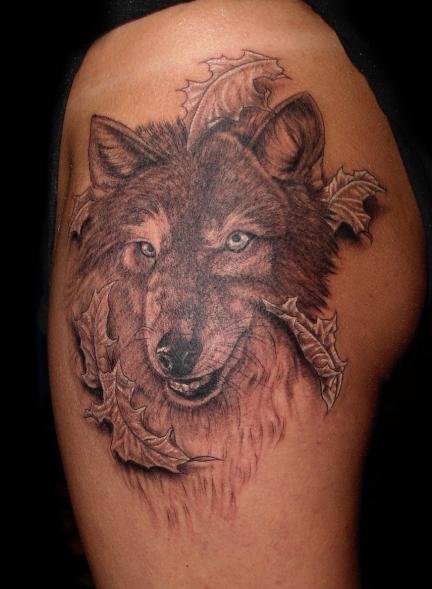 Значение татуировки Волк - значение татуировки волка