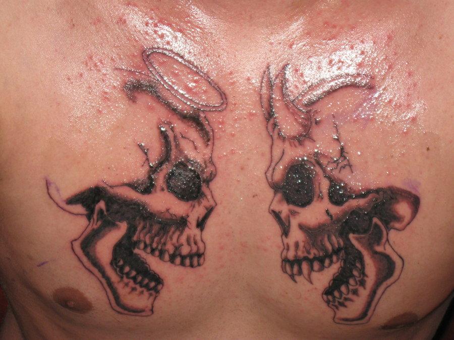 значение татуировки черепа - Тату череп с розой значение фото татуировок