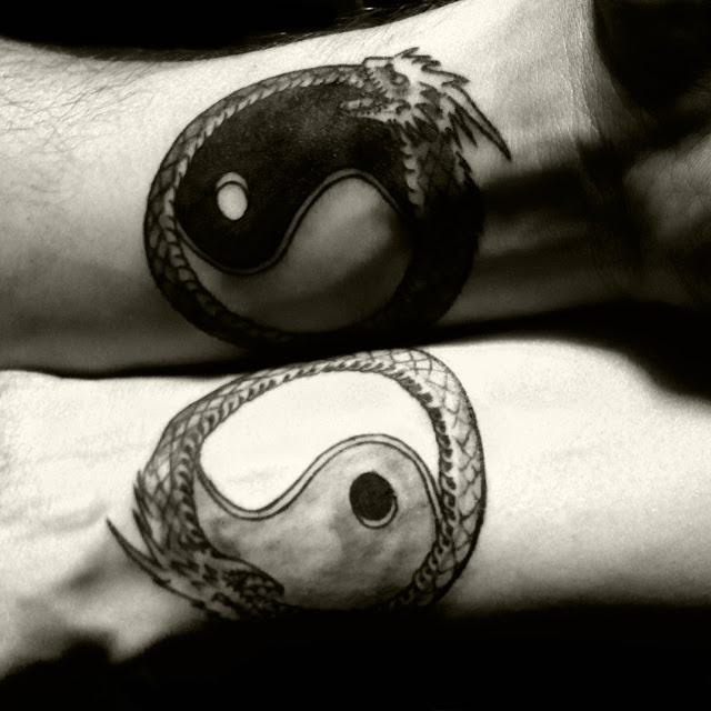 что означает инь янь в тату - Значение татуировки инь янь Символика тату