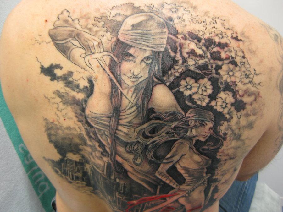 Женские тату на спине Татуировки на спине для девушек - татуировки на позвоночнике
