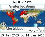 Visitas ene 2009 - ene 2010