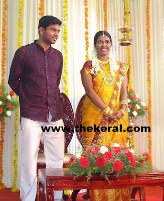 Idea Star Singer Bineetha Wedding Photo The Keral