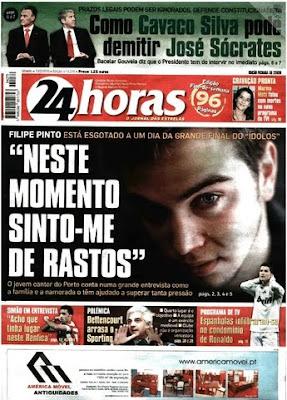 24+Horas Filipe Pinto Em Entrevista Ao 24 Horas