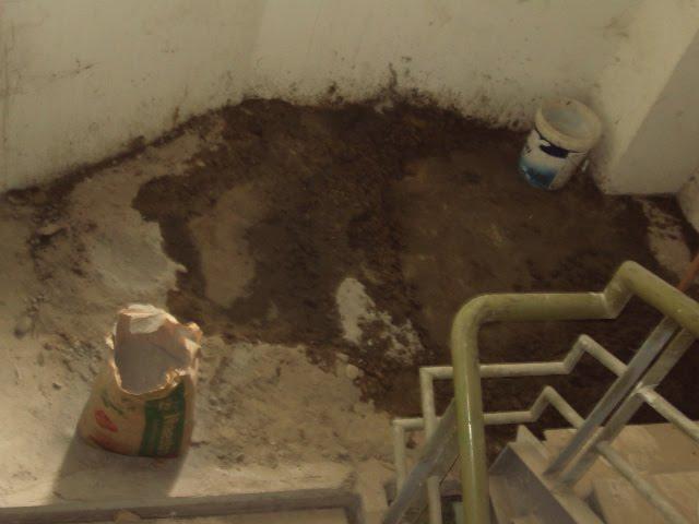Elaboracion de sobrepiso de concreto para pelda os de - Peldanos de marmol ...