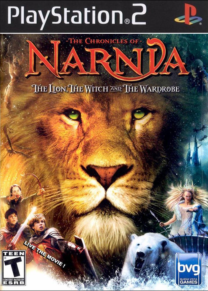 el leon la bruja y el ropero: