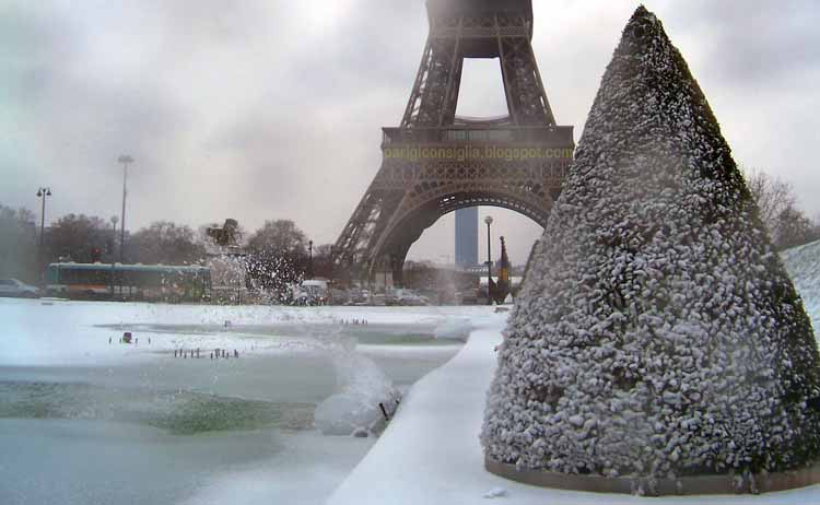 Parigi ti consiglia neve 20 dicembre riaprono orly e - Meteo beauvais tille ...