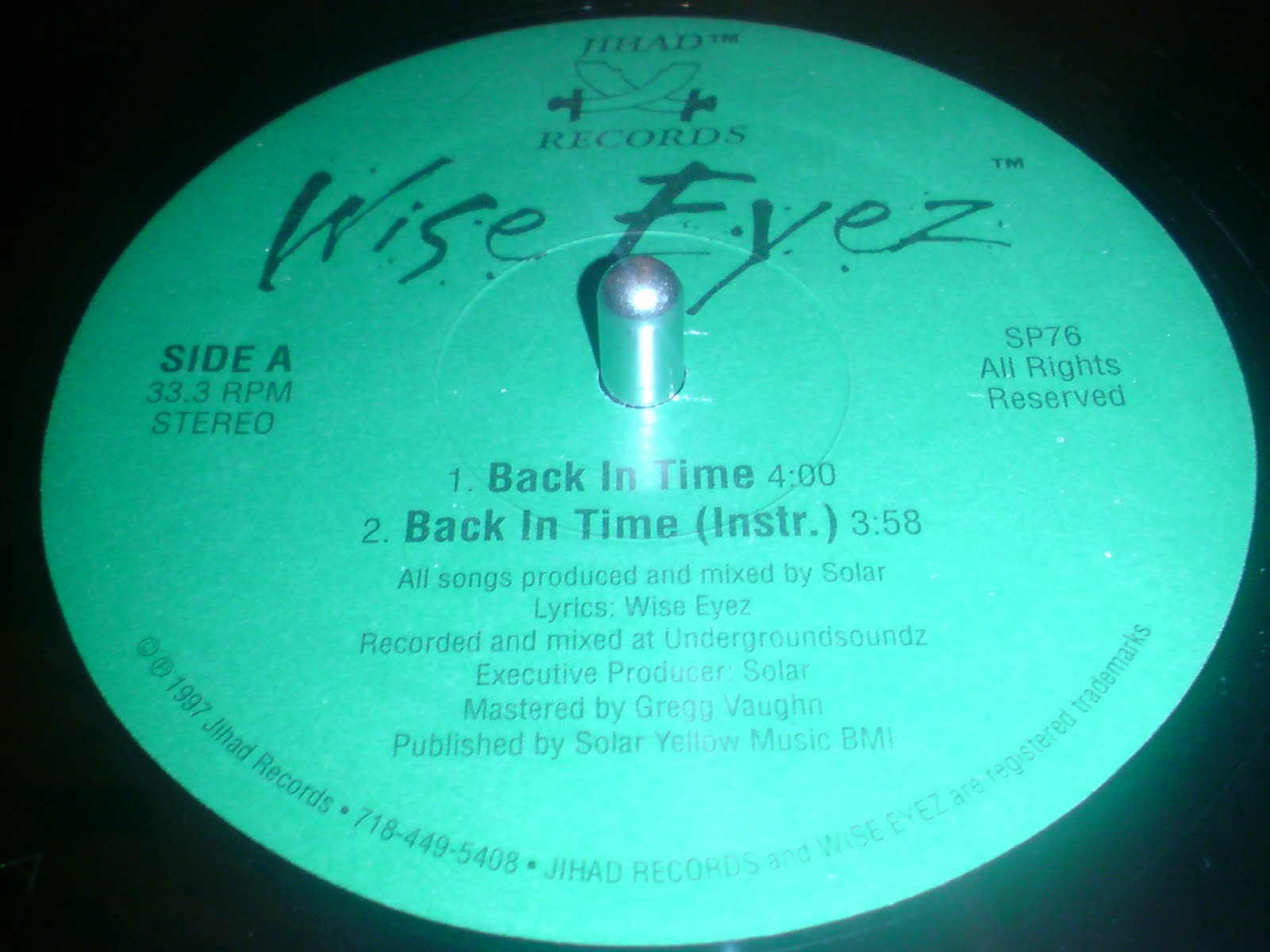 Wise Eyez - Back In Time