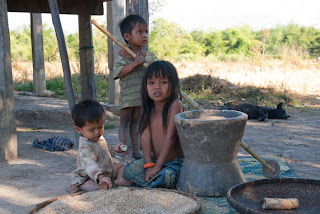 Cambodia - Children from minorities are vulnerable to the low hygien conditions