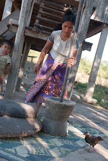 Cambodia - Kachok ethnic farmer
