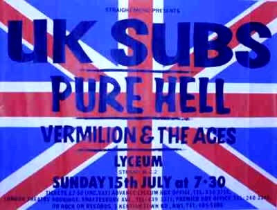 UK Subs etc.