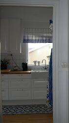 Köket sett från hallen